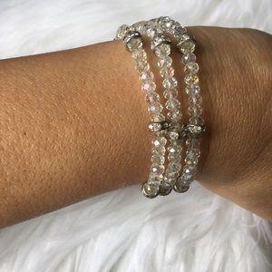 Jewelry - Bracelet made with cristal. Greek 🧿